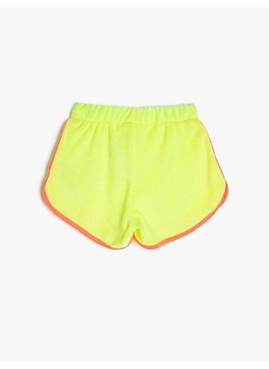 Koton Koton Sarı Şort Sarı